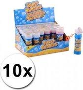 10 stuks voordelige kinder bellenblaas 50 ml