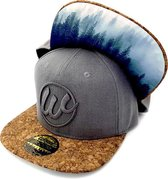 WOED Snapback Grey Forest - Adult size- donkergrijs