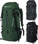 Beefree  Backpack - Rugzak - 55 Liter - Inclusief regenhoes - Groen
