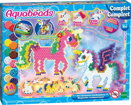 Afbeelding van Aquabeads Magische Eenhoornset 31898 - Hobbypakket speelgoed
