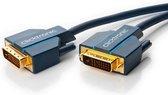 ClickTronic 70338 DVI kabel 15 m DVI-D Blauw