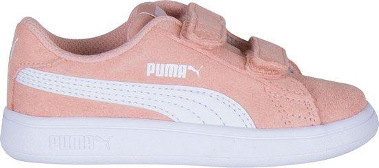 bol.com | Puma Smash v2 L V Sneakers - Maat 23 - Meisjes ...