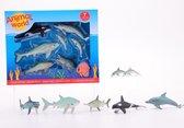 Animal World oceaan dieren assortiment in doos