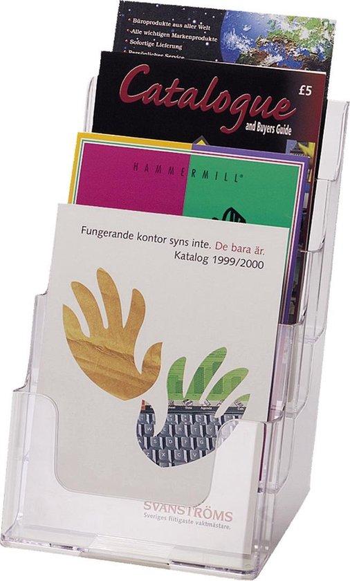 Deflecto folderhouder - 4 x A5