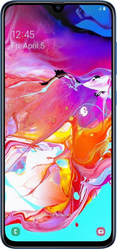 Samsung Galaxy A70 - 128GB - Blauw