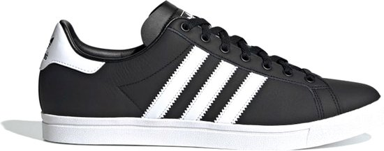 adidas Coast Star Heren Sneakers - Core Black/Ftwr White/Core Black - Maat 44 2/3