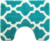 Wc-mat Alhambra smaragd 60x50cm