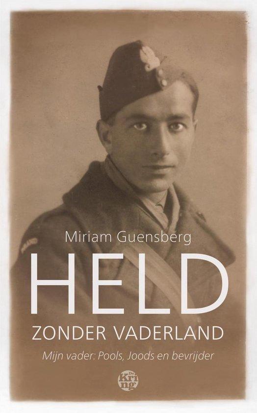 Boek cover Held zonder vaderland van Miriam Guensberg