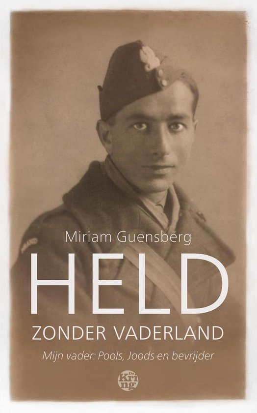 Boek cover Held zonder vaderland van Miriam Guensberg (Onbekend)