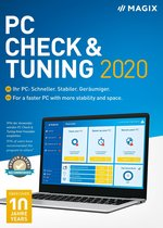 Magix PC Check & Tuning 2020 - 1 Apparaat - Engels/Duits - Windows Download