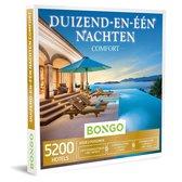 Bongo Bon Nederland - Duizend-en-één Nachten Comfort Cadeaubon - Cadeaukaart cadeau voor man of vrouw | 5200  unieke hotels: karaktervol, wellness, prachtige ligging en meer