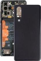 Let op type!! Batterij achtercover voor Huawei P30 (zwart)
