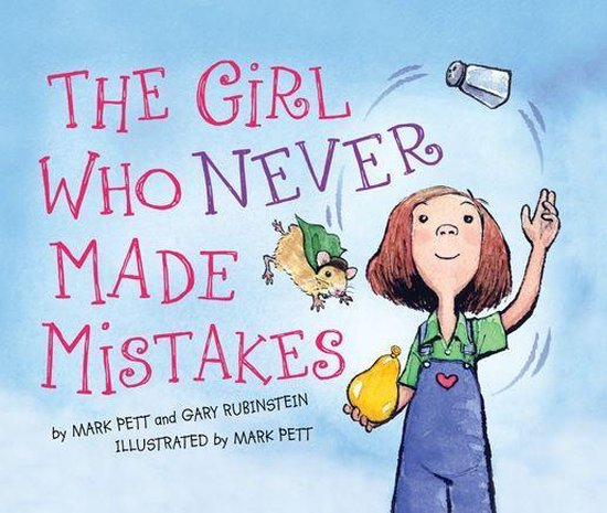 Boek cover The Girl Who Never Made Mistakes van Gary Rubinstein (Onbekend)