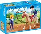 PLAYMOBIL Country Voltigeteam met paard  - 6933