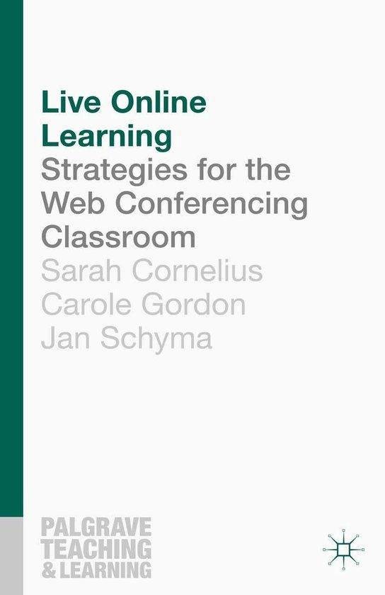 Boek cover Live Online Learning van Sarah Cornelius (Onbekend)