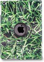 Apple iPad Hoes - 360° Draaibaar - Voor de iPad Air 2 - 'Gras' - Uniek Design