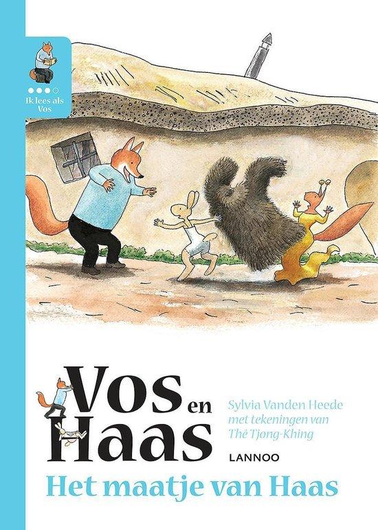 Vos en Haas - Ik leer lezen met Vos en Haas - Ik lees als Vos - Het maatje van Haas - Sylvia Vanden Heede |