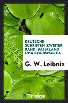 Deutsche Schriften, Zweiter Band