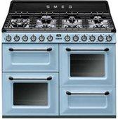 Smeg TR4110AZ fornuis gas (kookplaat) + elektrisch (oven) TR 4110 TR4110 TR 4110 AZ