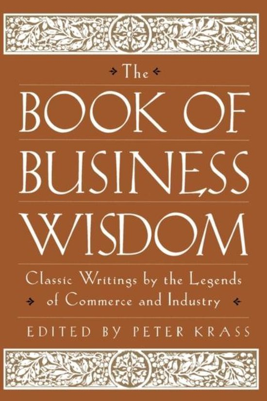 Boek cover The Book of Business Wisdom van Bert Visscher (Paperback)