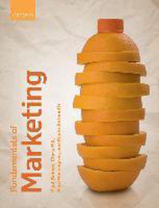 Boek cover Fundamentals of Marketing van Paul Baines (Paperback)