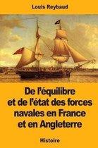 de l' quilibre Et de l' tat Des Forces Navales En France Et En Angleterre