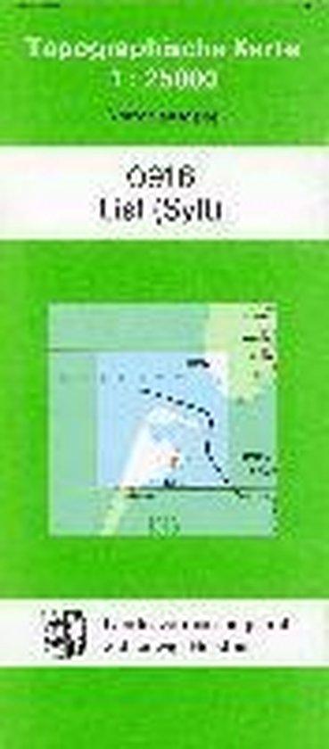List (Sylt) 1 : 25 000