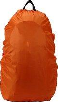 Regenhoes Rugzak - Waterdichte Backpack Hoes - Flightbag 35L   Bescherm uw tas tegen regen! (Oranje)