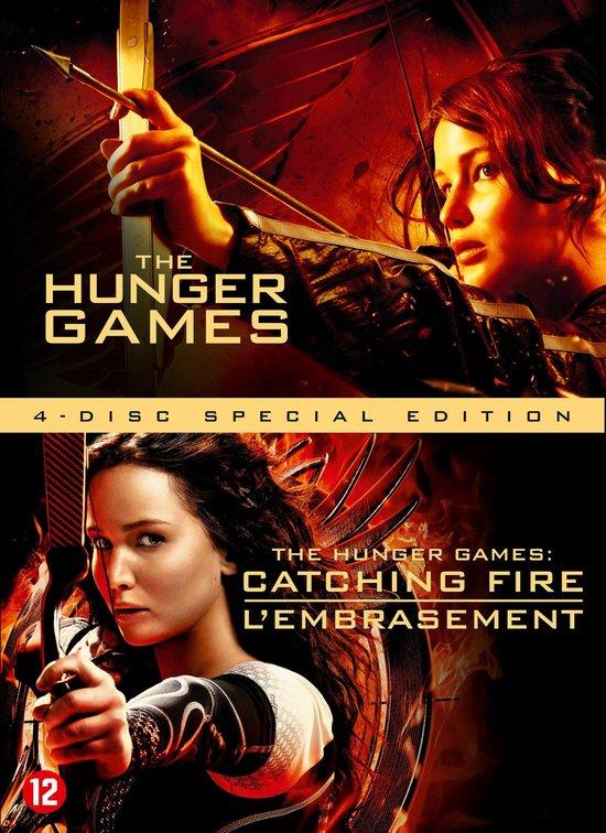 Cover van de film 'The Hunger Games 1 & 2'