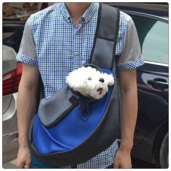 Small Honden Draagtas / Reistas - Hondentas & Katten Pet Carrier Bag - Zwart