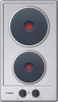 Bosch Serie 2 PEE389CF1 Ingebouwd Gesealde plaat Roestvrijstaal kookplaat