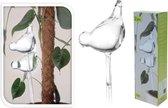planten watergever glazen vogel (set van 2)