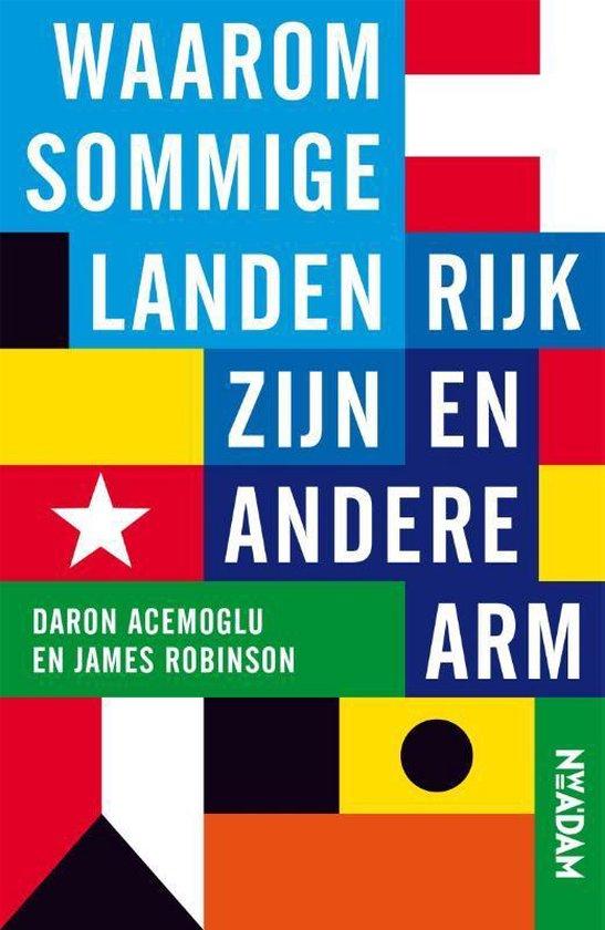 Boek cover Waarom sommige landen rijk zijn en andere arm van Daron Acemoglu (Paperback)