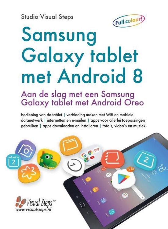 Samsung Galaxy tablet met Android 8 of 9 - Studio Visual Steps | Fthsonline.com
