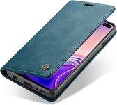 Samsung Galaxy S10 Hoesje - CaseMe Book Case - Blauw