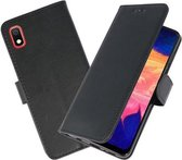 Bookstyle Wallet Cases Hoesje voor Samsung Galaxy A10 Zwart