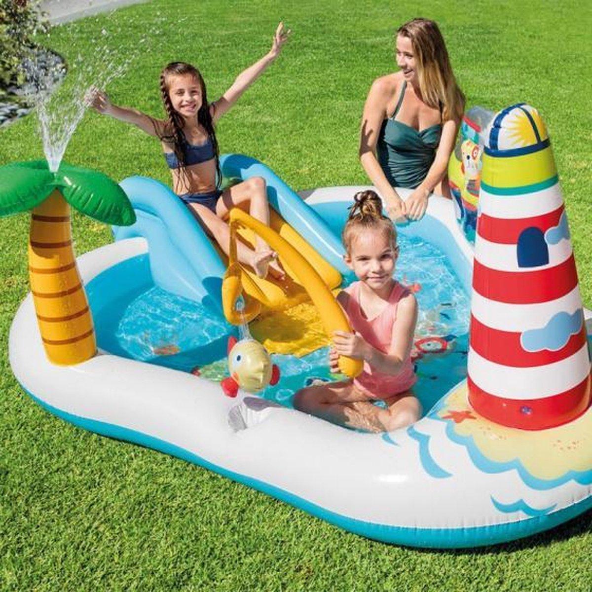 speelzwembad zeeparadijs 57162NP 218 x 188 x 99 cm PVC