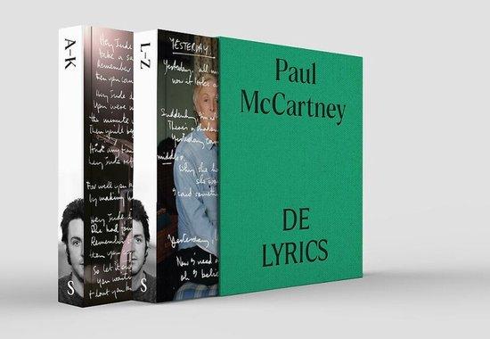 Boek cover De lyrics van Paul McCartney (Paperback)