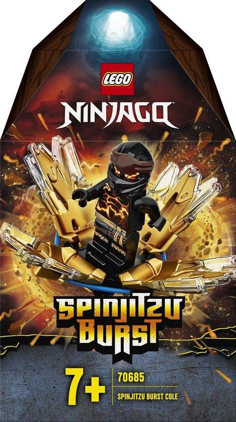 LEGO NINJAGO Spinjitzu Burst Cole - 70685