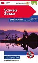 Switserland Cycle Map