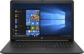 "HP 17-by0800nd Notebook Zwart 43,9 cm (17.3"") 1600 x 900 Pixels Intel® Pentium® Gold 8 GB DDR4-SDRAM 256 GB SSD Wi-Fi 5 (802.11ac) Windows 10 Home"