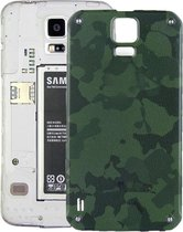 Let op type!! Battery Back Cover for Galaxy S5 Active / G870(Green)