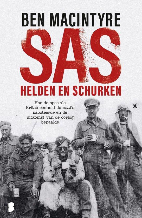 Boek cover SAS: helden en schurken van Ben Macintyre (Onbekend)