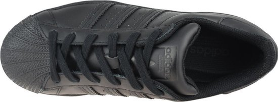 adidas Superstar J FU7713, Kinderen, Zwart, Sneakers maat: 38 EU