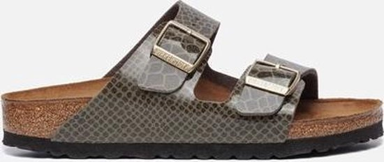 Birkenstock Arizona slippers groen Maat 35