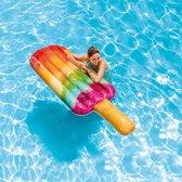 Intex Waterijsje Luchtbed Regenboog 191x76 cm - Opblaasfiguur