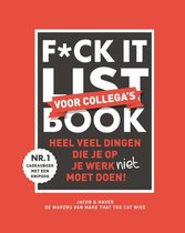F*ck it list book voor collega's