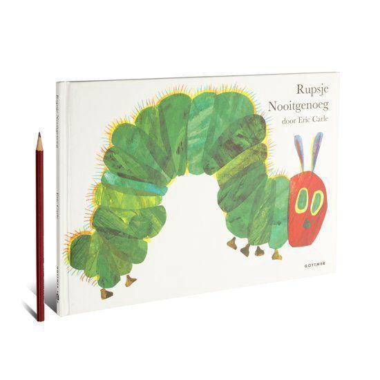 Boek cover Rupsje Nooitgenoeg van Eric Carle (Hardcover)