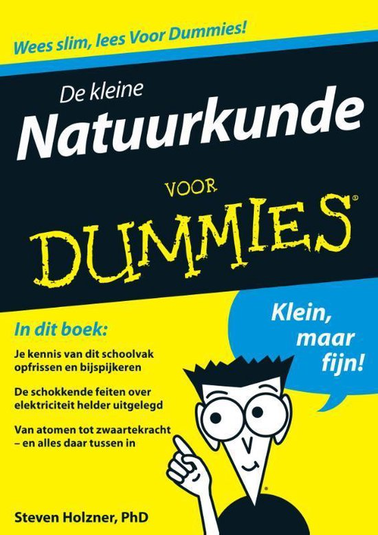 De Kleine Natuurkunde Voor Dummies - Steven Holzner  
