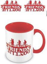 Stranger Things - Friends Don t Lie Coloured Inner Mug 315ml